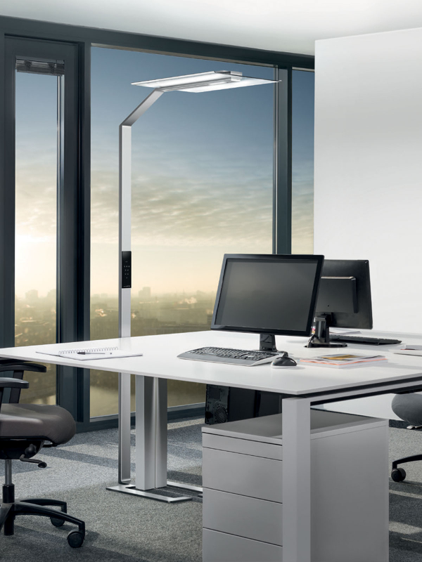 luctra-floor office lampadaire led