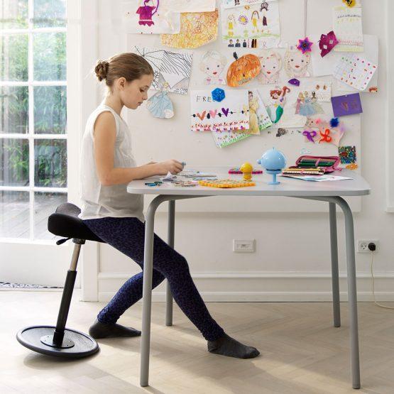 chaise érgonomique,Tabouret, siège assis debout, meuble pour enfant,chaise pour enfant